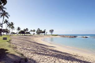 コオリナリゾート、オアフ島、ハワイ-3の写真素材 [FYI00443969]