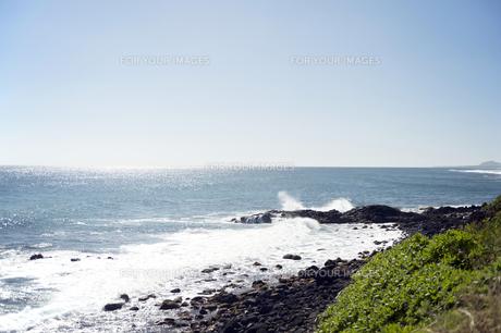 カパアビーチ、カウアイ島、ハワイ-2の写真素材 [FYI00444060]