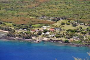 カラウパパ展望台、モロカイ島、ハワイ-2の写真素材 [FYI00444095]
