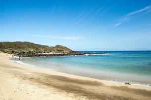 カプカヘフ・ビーチ、モロカイ島、ハワイ-3の写真素材 [FYI00444098]