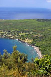 カラウパパ展望台、モロカイ島、ハワイ-3の写真素材 [FYI00444100]