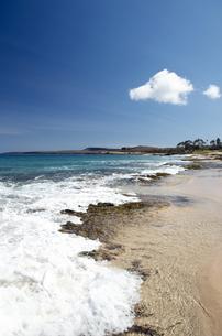 ポハク・マウリウリ・ビーチ、モロカイ島、ハワイ-2の写真素材 [FYI00444113]