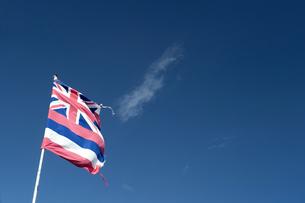 ハワイ州のフラッグの写真素材 [FYI00444116]