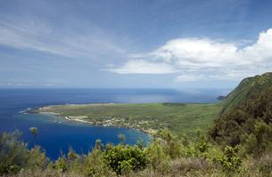 カラウパパ展望台、モロカイ島、ハワイ-6の写真素材 [FYI00444130]