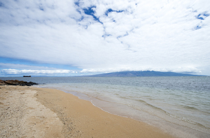 Kaiolohia Beach(Shipwreck Beach)ラナイ島、ハワイ-6の素材 [FYI00444143]