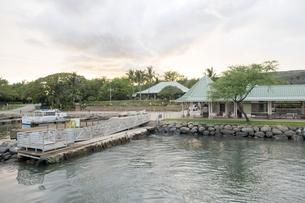 Manele 港、ラナイ島、ハワイ-2の素材 [FYI00444144]