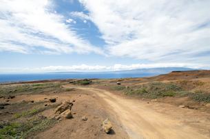 Keahiakawelo(Garden Of The Gods)ラナイ島、ハワイ-5の素材 [FYI00444148]