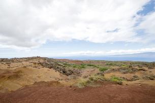 Keahiakawelo(Garden Of The Gods)ラナイ島、ハワイ-2の素材 [FYI00444149]