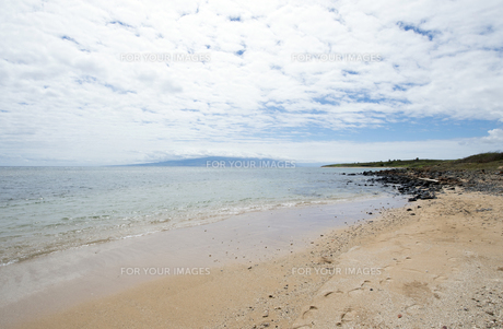 Kaiolohia Beach(Shipwreck Beach)ラナイ島、ハワイ-5の素材 [FYI00444156]
