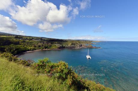 ホノルア湾、マウイ島、ハワイ-1の素材 [FYI00444189]