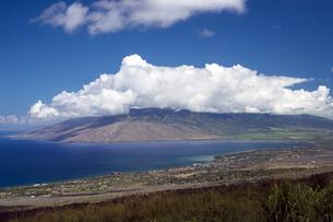 ピイラニハイウェイからキヘイとマアラエア湾を望む、マウイ島、ハワイ-1の素材 [FYI00444191]