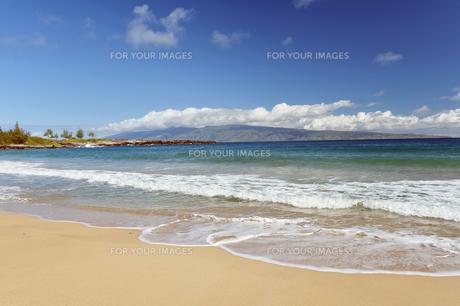 フレミングビーチ、マウイ島、ハワイ-1の素材 [FYI00444192]