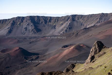 ハレアカラクレーター、マウイ島、ハワイ-10の素材 [FYI00444201]