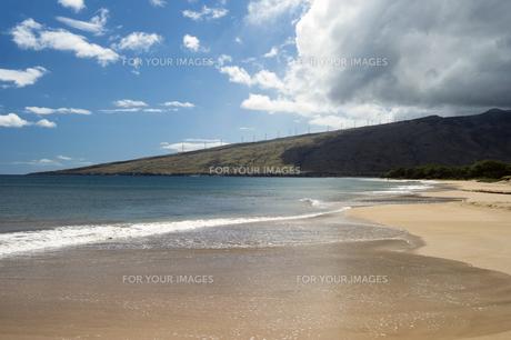 ケアリアビーチ、マアラエア湾、マウイ島、ハワイ-1の素材 [FYI00444207]