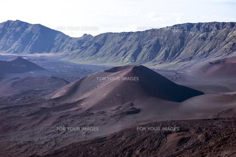 ハレアカラクレーター、マウイ島、ハワイ-12の素材 [FYI00444213]