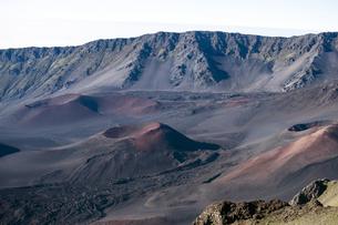 ハレアカラクレーター、マウイ島、ハワイ-11の素材 [FYI00444214]