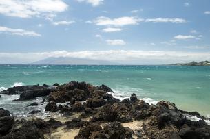 マケナビーチ、マウイ島、ハワイ-1の写真素材 [FYI00444216]