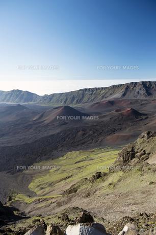 ハレアカラクレーター、マウイ島、ハワイ-5の素材 [FYI00444220]
