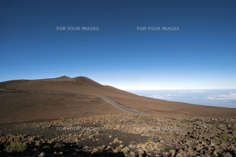 ハレアカラクレーター、マウイ島、ハワイ-2の素材 [FYI00444227]