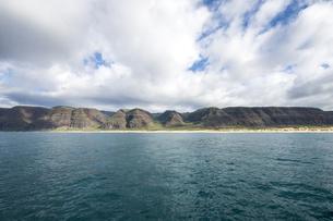 ポリハレビーチパーク、カウアイ島、ハワイ-3の写真素材 [FYI00444309]