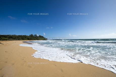 ケアリアビーチ、カウアイ島、ハワイ-3の素材 [FYI00444310]