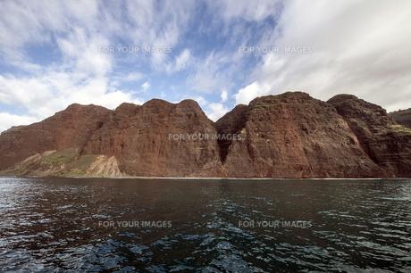 ナ・パリ・コースト、カウアイ島、ハワイ-13の写真素材 [FYI00444321]
