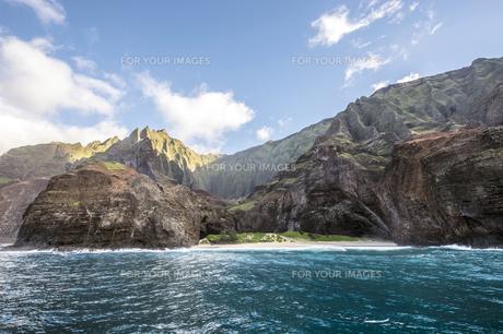 カララウトレイル、カウアイ島、ハワイ-6の写真素材 [FYI00444327]