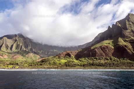 カララウトレイル、カウアイ島、ハワイ-3の写真素材 [FYI00444329]