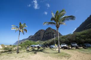 ポリハレビーチパーク、カウアイ島、ハワイの素材 [FYI00444330]