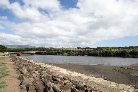 ワイメアリバー、カウアイ島、ハワイの素材 [FYI00444332]