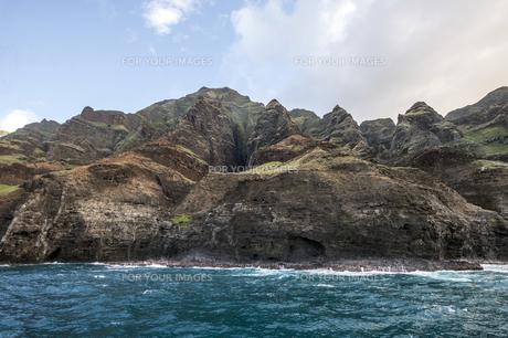 ナ・パリ・コースト、カウアイ島、ハワイ-8の素材 [FYI00444334]