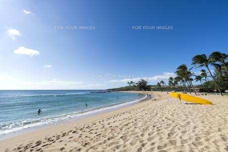 ソルトポンドビーチパーク、カウアイ島、ハワイ-3の素材 [FYI00444337]