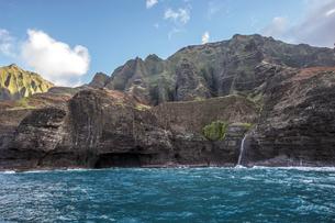 ナ・パリ・コースト、カウアイ島、ハワイ-19の素材 [FYI00444343]