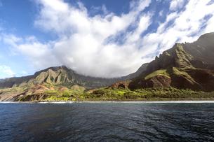 ナ・パリ・コースト、カウアイ島、ハワイ-17の素材 [FYI00444347]