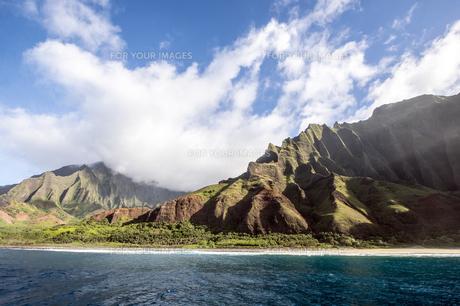 カララウトレイル、カウアイ島、ハワイ-4の写真素材 [FYI00444351]