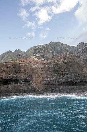 ナ・パリ・コースト、カウアイ島、ハワイ-4の写真素材 [FYI00444355]