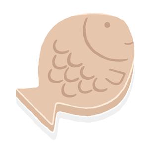 魚の形の鍋敷きの写真素材 [FYI00444358]
