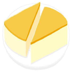 チーズケーキのイラスト素材 [FYI00444377]