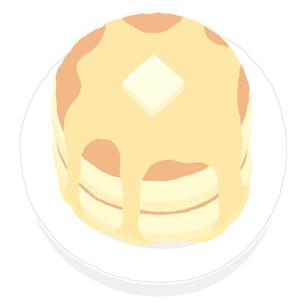 ホットケーキの写真素材 [FYI00444386]