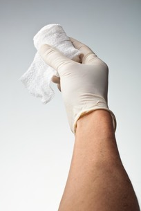 hands(bandage)_08の写真素材 [FYI00444446]