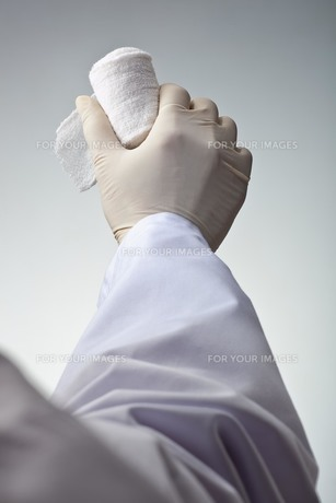 hands(bandage)_20の素材 [FYI00444512]