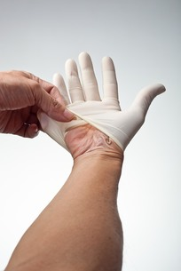 hands(gloves)_23の写真素材 [FYI00444615]