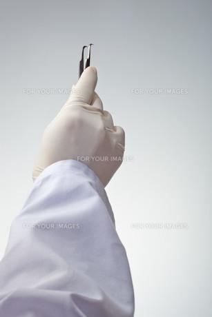 hands(pincet)_43の素材 [FYI00444616]