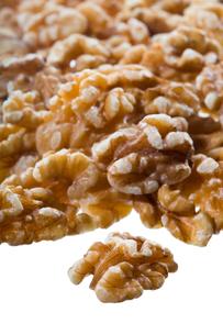 nuts(walnuts)_01の写真素材 [FYI00445002]