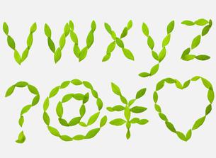 ABC[leafs_B]_09の写真素材 [FYI00445036]