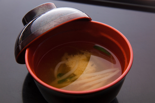 food[miso_soup]の写真素材 [FYI00446284]
