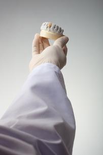 hands(teeth)_09の写真素材 [FYI00446352]