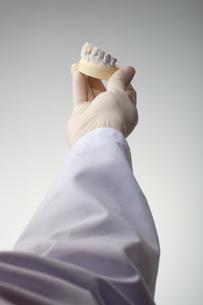 hands(teeth)_10の写真素材 [FYI00446354]