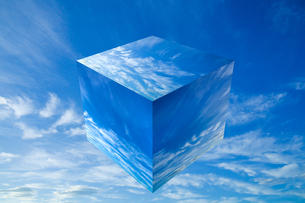 sky_cube_03の写真素材 [FYI00446812]