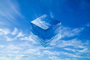 sky_cube_01の写真素材 [FYI00446824]